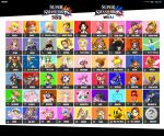 Female Smash Roster by Michael-lol