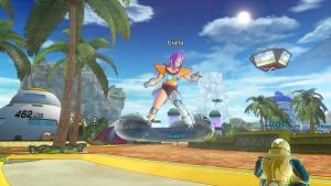 DBXenoverse 2: Flying around in Coton City 3 by Evil-Black-Sparx-77