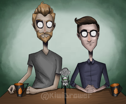 Rhett and Link! by o0JavaLlama0o