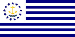 Alt Flag - State of Rhode Island by AlienSquid