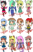 New Adopts[CLOSED] by xXSweet-MiwakoXx