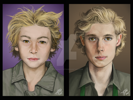 Tweek-Before and After by SUCHanARTIST13