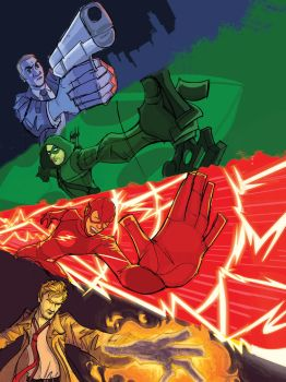 The Justice League of Television by Jorell-Rivera