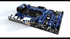 Mainboard Modelling WIP V1f by DonMichael71