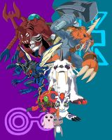 Joe and Izzy's Digimon by racookie3