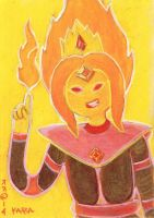 Flame Princess in Coup Wear by LEXLOTHOR