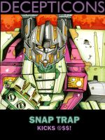 SNAPTRAP kicks @ss by multi-comics