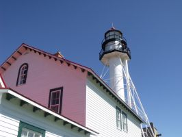 Whitefish Point Light by The-Necromancer