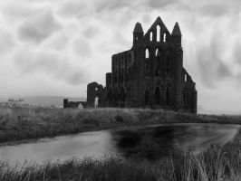Whitby Abbey by krazykel