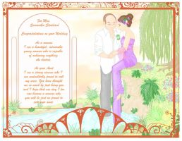 Wedding Card for my Niece by MandyGameHouse