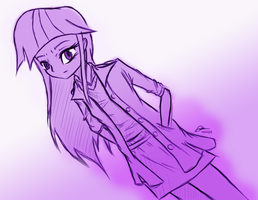 Twilight Human Sketch by MrAsianhappydude