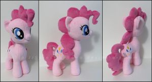 Plushie: Pinkie Pie - My Little Pony: FiM by Serenity-Sama