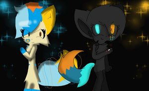 Collab with Torithekitty123 by pooshfan