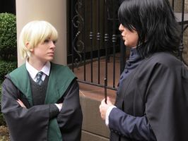 Snape and Draco 3 by Catchmewithyourlips