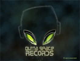 outta space records by Starv-n-Artist