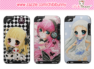 Cute anime girls Ipod Touch cases