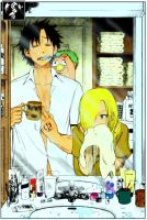 Beelzebub Color:Al despertar.. by KageShadow10