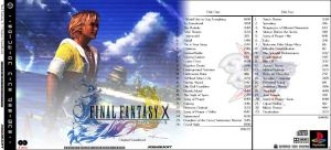 FFX CD Cover 1 by masamune