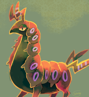 Scolipede by sweating
