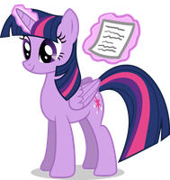 Princess Twilight Sparkle Microsoft Word Icon by LostInTheTrees