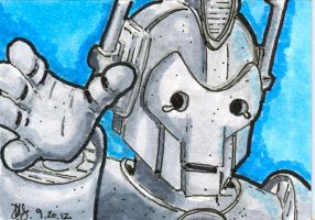 Dr. Who Cyberman by Pencilbags