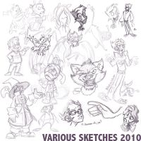 Box o' Sketches by mct421