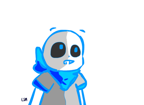 [Animation] Hey, I'm Sans !! by Lysame