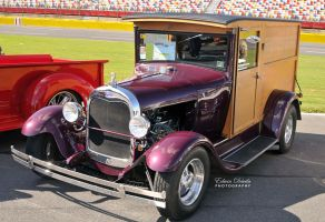 Ford Wooden Truck by E-Davila-Photography