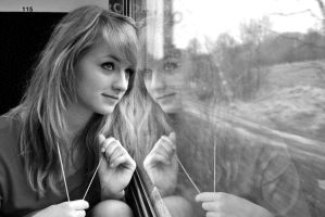 Train journey I by GreenDrop