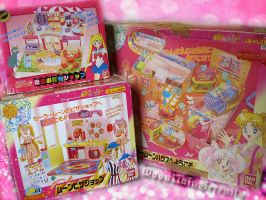 My Sailor Moon Playsets by MoonLainSerenity