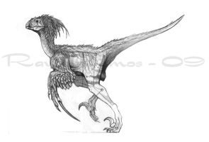 Creature Design: Raptor by daitengu