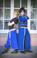 Roy and Riza by fotoboerb