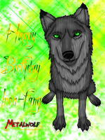 Happy Birthday Iron-Fang by Metalwolf13
