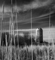 Abandoned Silo 1 by claymaven