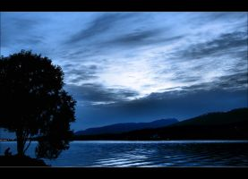 Evening Blue by Val-Faustino