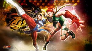 Street Fighter X Tekken: Cool Beauties by KaboXx