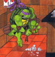 Don's Lab Accident by tmntart