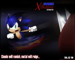 Sonic Xtreme. Poster-Wallpaper by Doom-Fox