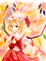 Touhou: Flandre Scarlet by Haiyun