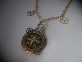 Steampunk Necklace 01 by PhoenixII