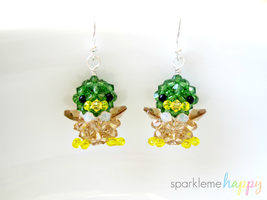 Mallard Duck Earrings by SparkleMeHappy