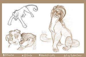 Point Commissions Set 3 by Panimated