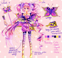 Reference: Butterfly Princess Mariposa by Lapia