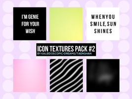 Icon Textures: Pack #2 by Kaleidoscopic-Dreams