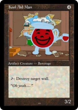 Kool Aid Man MTG card by fallschirm-jaeger