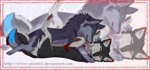 +Devil Wolves+ Couple12 by Silver-spirit666