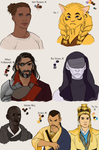 TNT Characters by Aerorwen