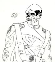 Red Skull, WIP by Ratchet-Wrench