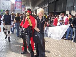 Cosplay Vincent and Cloud by Luray