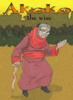old lady Akoko of sakuma by Concepts-Reloaded